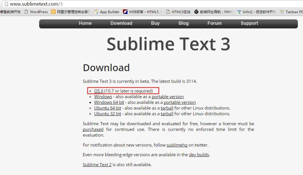 Sublime Text3 使用指南